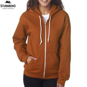 Hoodie ANVIL Zip Lady Fashion 245