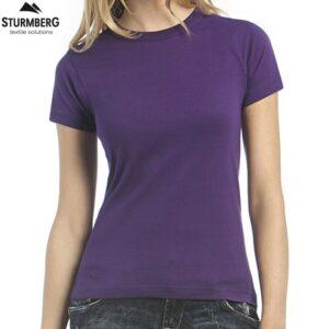 T-Shirt B&C Lady 185