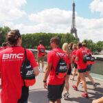bmc t-shirt rot siebdruck eiffelturm