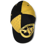 YB Baseballcap gelb schwarz