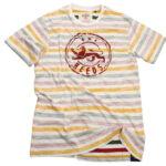 Reeds T-Shirt streifen siebdruck reggae