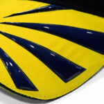 Rubber Veredelung Cap Gummierung Logo