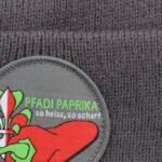 Wintermütze beanie Paprika