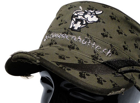 """Armycap """"Tschuggenhütte Arosa"""" / Design von Sturmberg"""