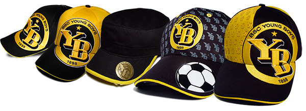 Cap Kollektion Young Boys / Design von Sturmberg