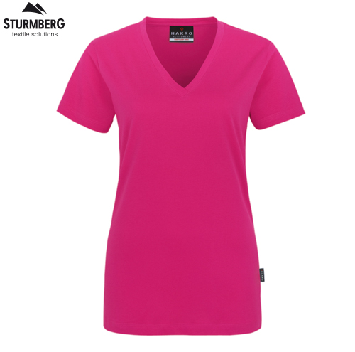 Hakro T-Shirt V-Neck Lady classic 126