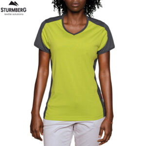 hakro t-shirt performance contrast lady 190
