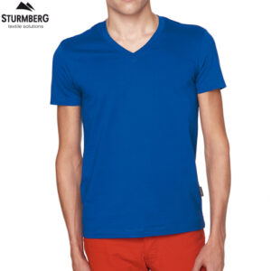 Hakro T-Shirt V-Neck Slim Fit Man 296