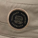 Navyboot Armycap woven label