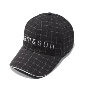baseballcap herstellen lassen schwarz Golfclip