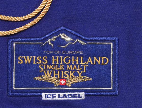 "Whisky Tasche ""Swiss highland Whisky"""