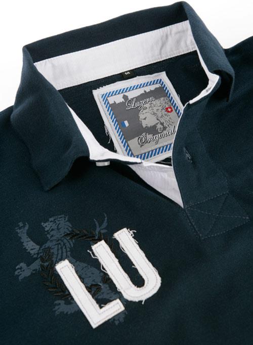 """Poloshirt """"Luzern"""" / Design von Sturmberg"""