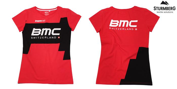 bmc t-shirt rot schwarz