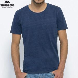 T-Shirt Stanley Stella Herren - Modell enjoys - denim - Sturmberg