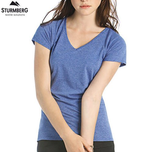 T-Shirt B&C Lady V-Neck 135