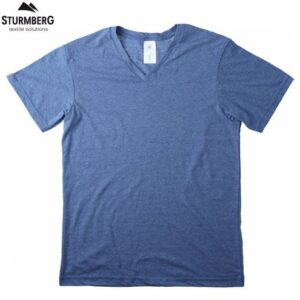 T-Shirt B&C Man V-Neck 135