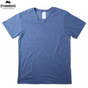 T-Shirt B&C Man V-Neck 135