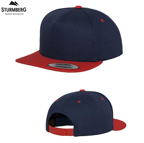 baseballcap flexfit zweifarbig