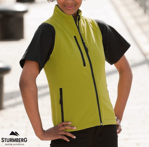 Softshell RUSSELL Lady Gilet 340