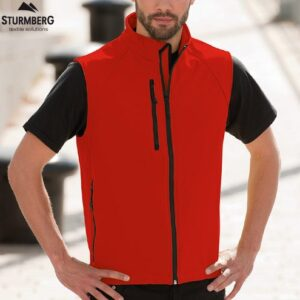 Softshell RUSSELL Man Gilet 340