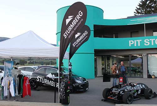 Bern Formula Student / Fahrzeugpräsentation mit Sturmberg