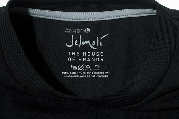 "Logo Innendruck ""Jelmoli"""